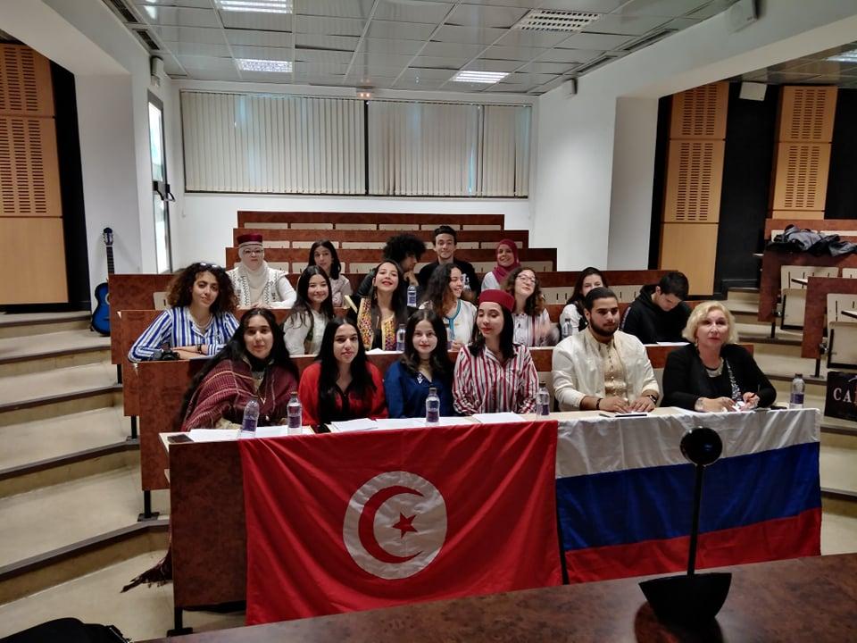 ТЕЛЕМОСТ «РОССИЯ, Москва – ТУНИС, Тунис»