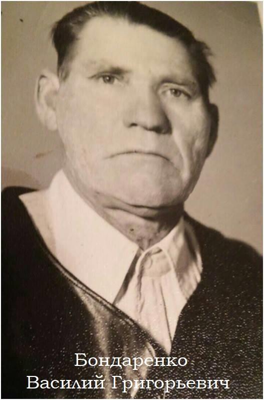 Бондаренко Василий Григорьевич