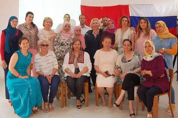 Семинар-Лекция по русскому языку как иностранному для тунисских преподавателей средних школ страны.