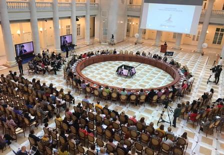 O IV Международном педагогическом форуме «Живая классика»