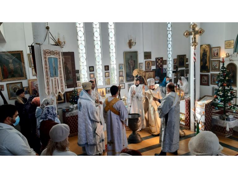 О крещенских купаниях в Тунисе