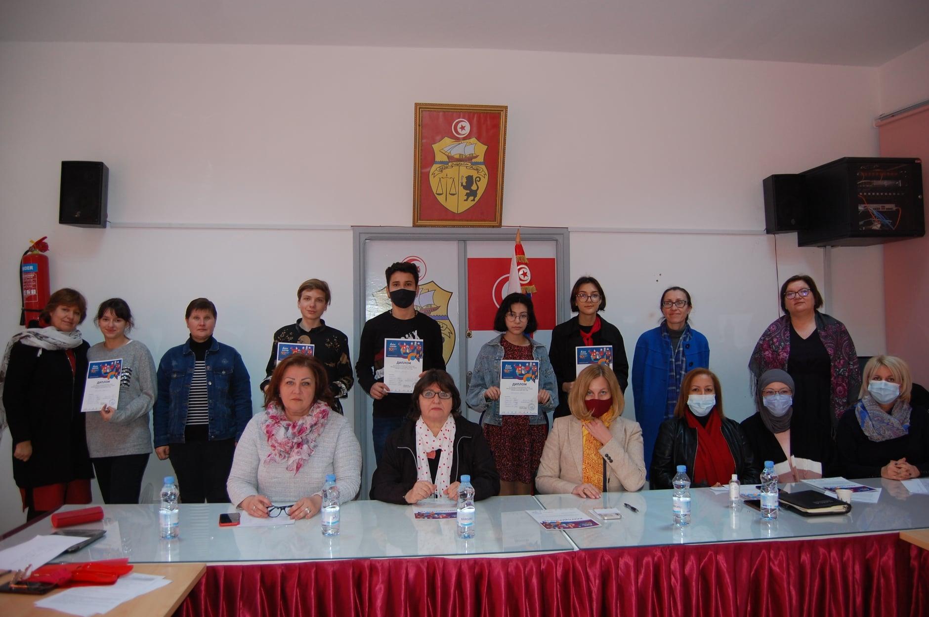 Национальный конкурс «Живая классика» 2021 в Тунисской республике